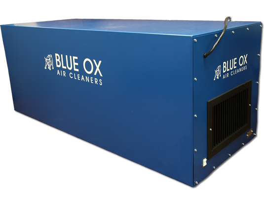 Commercial Amp Industrial Air Cleaner Ox2500 War Blue Ox